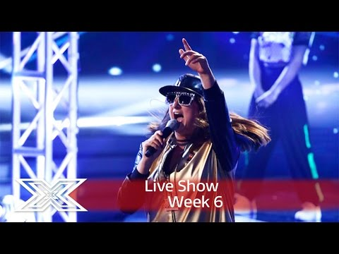 Honey goes BeeGee with Stayin' Alive! | Live Shows Week 6 | The X Factor UK 2016