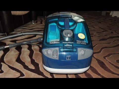 Thomas Twin T1 Aquafilter  замена фильтров