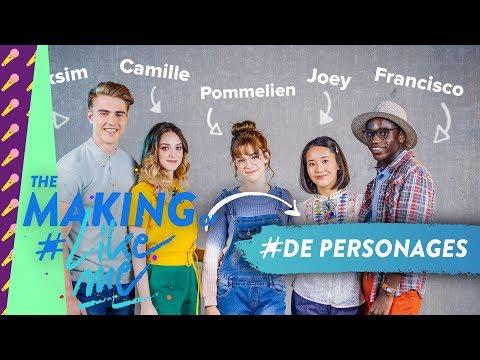 The making of #LikeMe   De sterren van #LikeMe stellen zich voor!