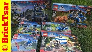LEGO Jurassic World HAUL! New 2015 sets!