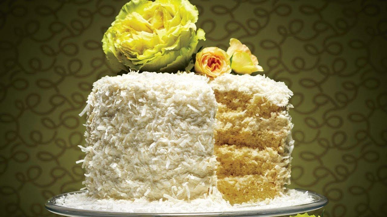 coconut chiffon cake southern living youtube