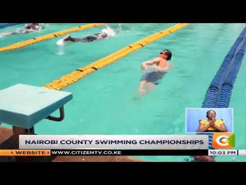 Nairobi county swimming championships