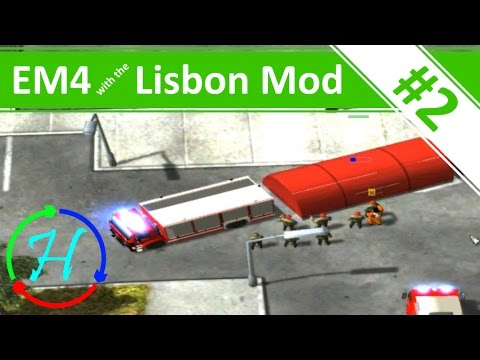 Airport Explosion! - Ep.2 - Emergency 4 with the RSB Lisbon Mod (v1.2)