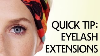 How to Take Care of Eyelash Extensions | Sephora