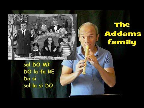 La Famiglia Addams (Famosissima + SPARTITO)