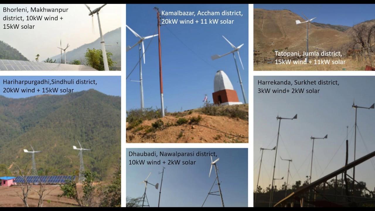 Webinar (recording): Market Assessment for Small Wind