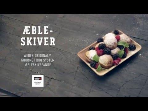 Lækker Æbleskiver på Webers GBS® æbleskivepande, Webers grillopskrifter SZ-91