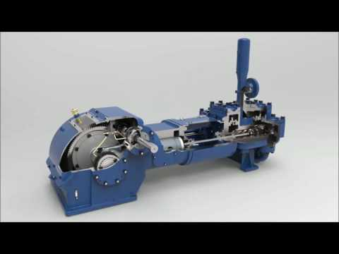 Motor Driven Duplex Piston Pump