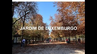 OUTONO NO JARDIM DE LUXEMBURGO- PARIS