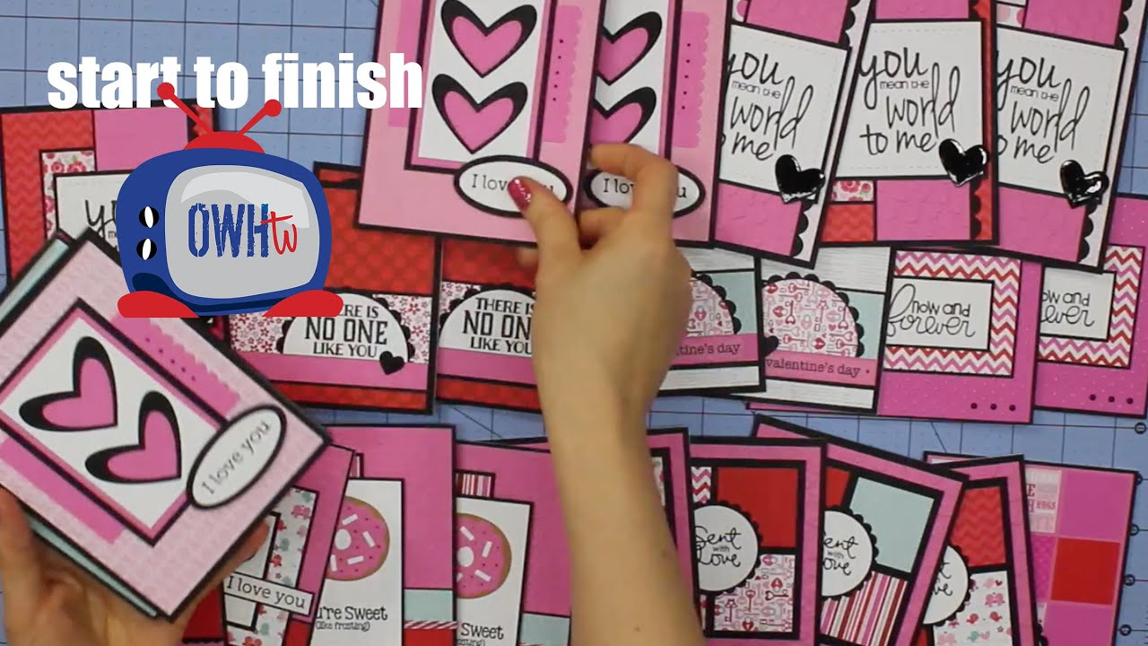Paper Pads For Card Making Part - 16: Cardmaking From A 6x6 Paper Pad - YouTube