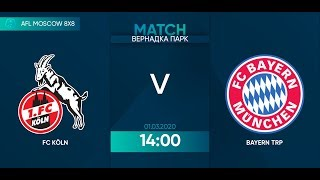 AFL 20 Germany Bundesliga 2 FC Koln Bayern TRP