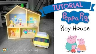 Hello everyone! Do your children, nephews, grandchildren also love Peppa Pig? So here you have a easy craft that you can do...