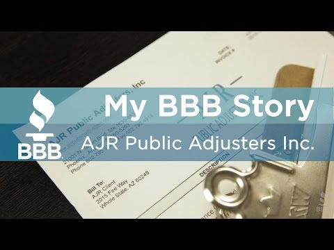 My Bbb Story Ajr Public Adjusters Inc