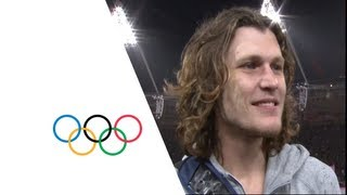 Ivan Ukhov (RUS) Wins High Jump Gold - London 2012 Olympics