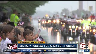 Funeral and visitation held in Columbus for fallen soldier