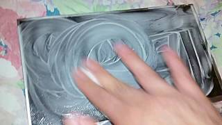 Removing Scratches From A Tablet Screen Using Toothpaste