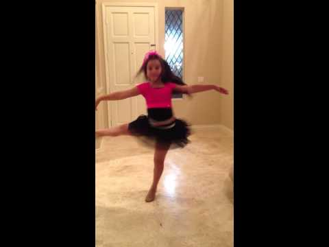 Tessa Bella deFries  Disney's Make Your Mark Audition 2012 age 8
