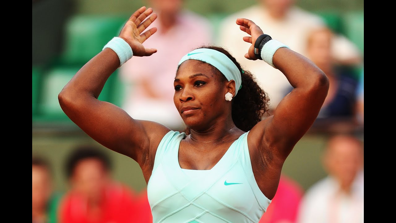 serena williams loses 1st round french open youtube