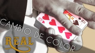 Trucos con Cartas: Cambio de Color Real | TrucosConCartas.com