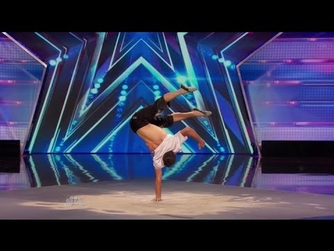 America's Got Talent S09E03 Andrey Moraru The Most Amazing and Graceful Hand Balancing Act