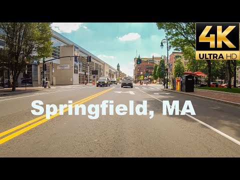A Tour Of Springfield, Massachusetts, USA