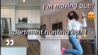 Come Apartment Hunting w/ Me!! 🥳 ep. 1 | Alyssa Howard 💗