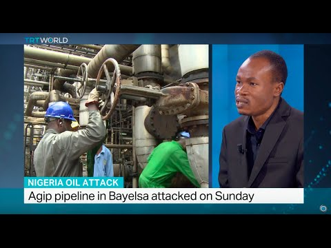Militants attack a major crude oil pipeline in Nigeria, Fidelis Mbah weighs in