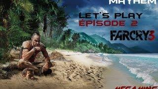 Let's play sur Far Cry 3 Épisode 2 | A la chasse au sanglier !