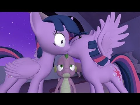 TWILIGHT PLAYS WITH HERSELF WTF MY LITTLE PONY RIDE COMIC DUBS