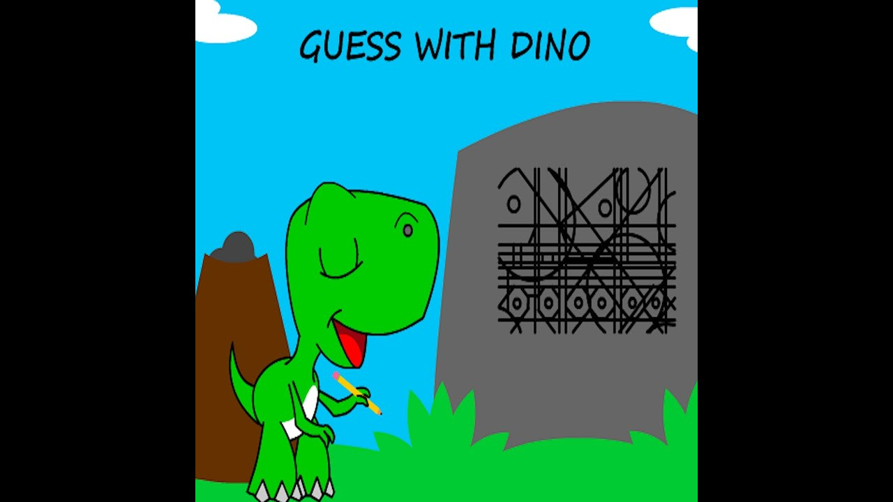 Guess With Dino Episode 9 Guessing Game For Kids Youtube