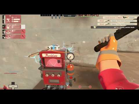 Playing Team Fortress 2: HACKING SPY SRSLY?!!