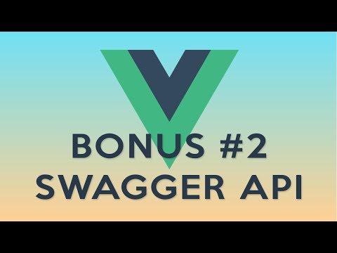 VueJS 11: Swagger ile API tasarlayalim