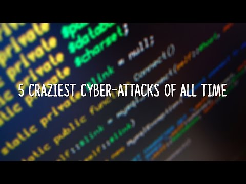 5 Craziest Cyber Attacks of All Time