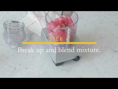 Simply Sweet Sorbet Recipe | Simply Fruit Punch®