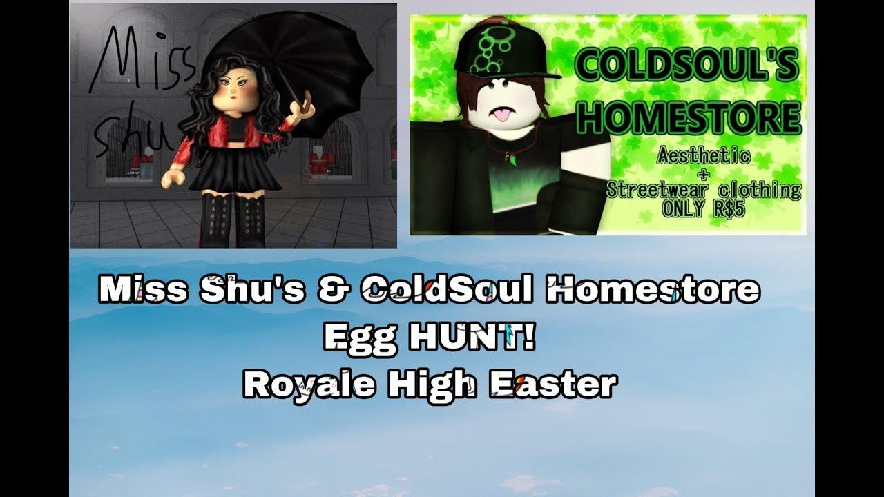 Miss Shu S Coldsoul Homestore Egg Hunt Royale High Easter 4