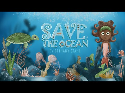 Save the Ocean Children's Animated Audiobook