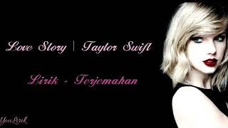Taylor swift - love story ( lirik video dan terjemahan)