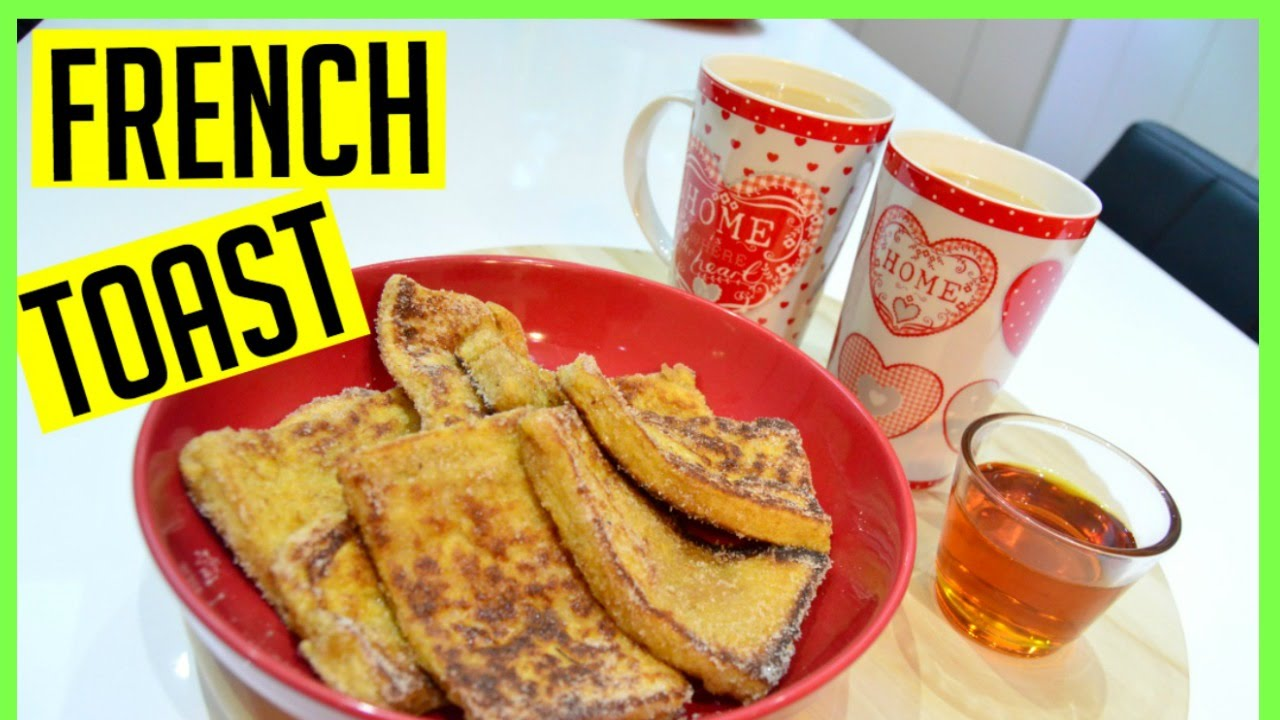 How To Make French Toast  Cook With Anisa  Indian Cooking Recipes   Breakfast
