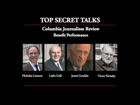 Top Secret Talks - Columbia Journalism Review Benefit Performance
