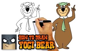 How to Draw Yogi Bear | Hanna Barbera