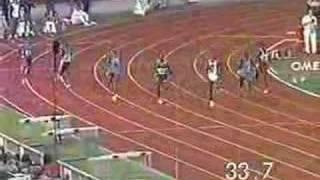 Butch Reynolds 400m Zürich 17.08.1988