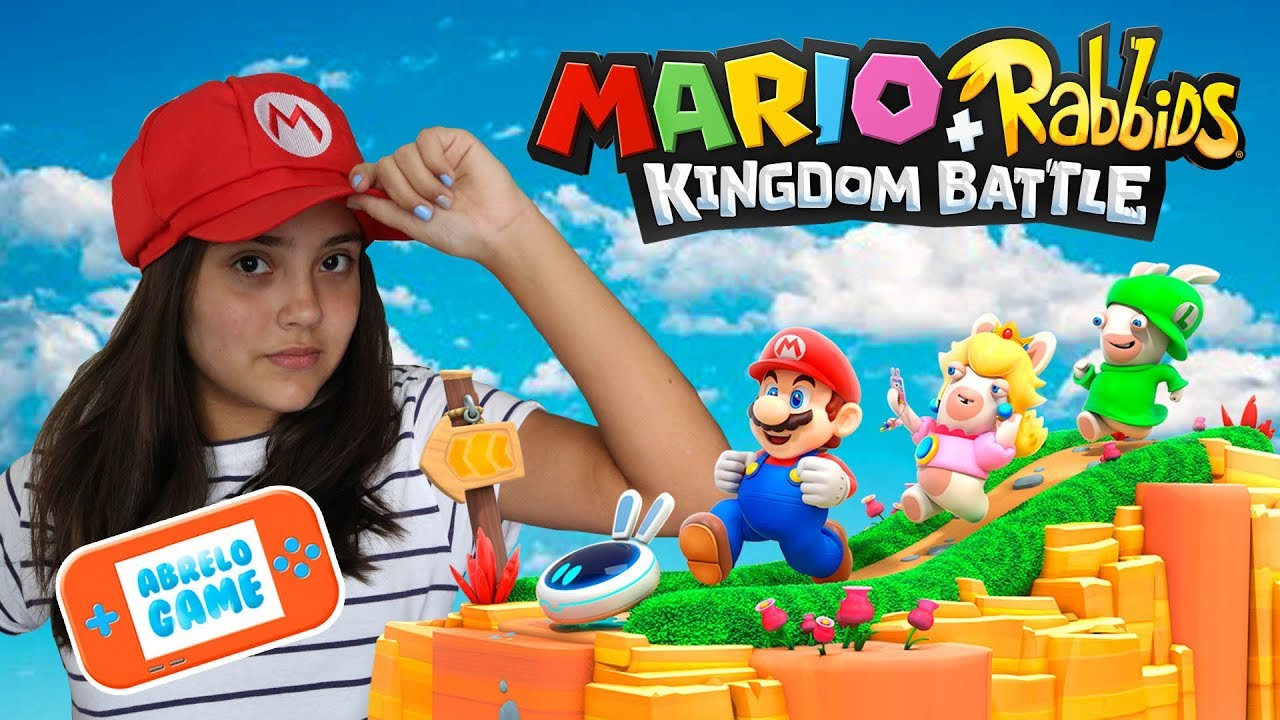 Juego Mario Rabbids Kingdom Battle En Espanol O Mario Rabbids