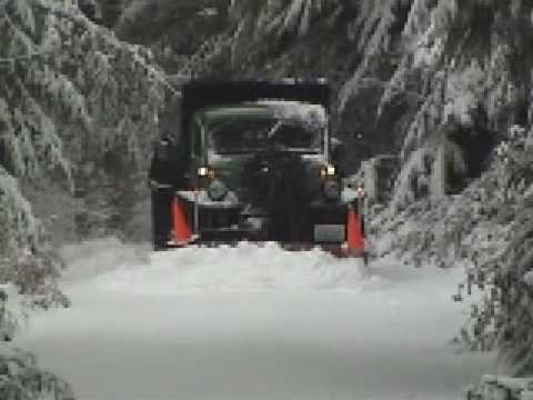 Dodge Power Wagon Snowplow Youtube