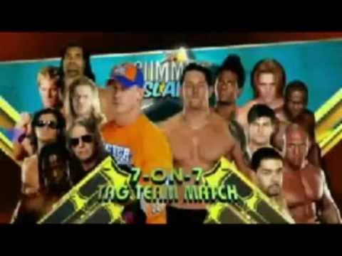 Wwe Nexus Vs John Cena Team Team Vs Nexus | raw te...