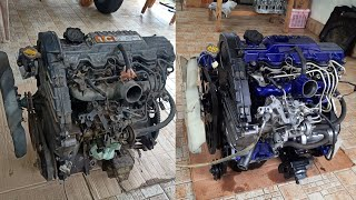 Toyota 1C Engine Full Restoration  (Toyota 1C 2C 3C Engine Restoration)