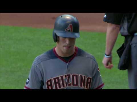 July 25, 2016-Arizona Diamondbacks vs. Milwaukee Brewers
