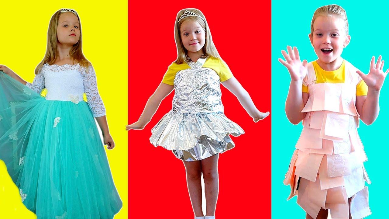 Лера и её новые модные платья