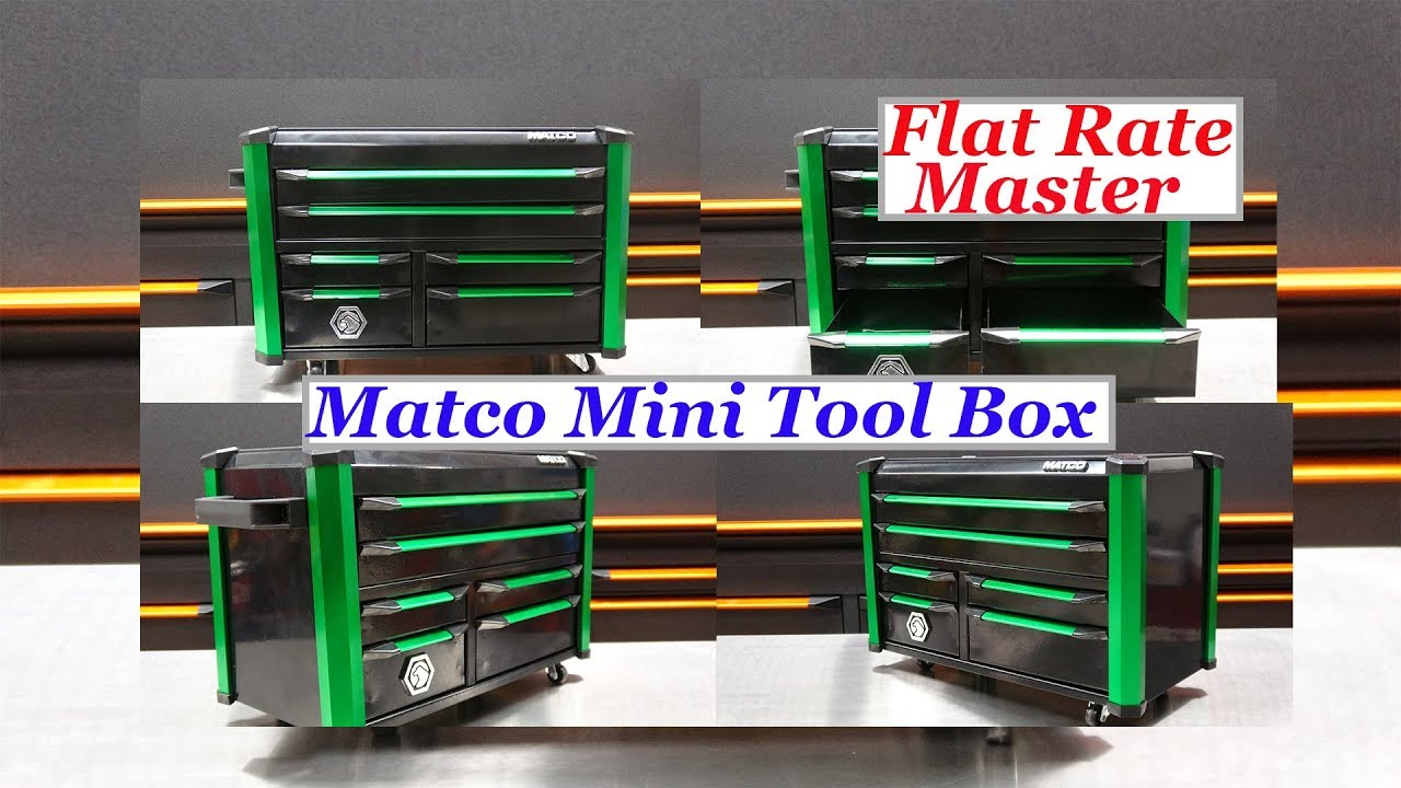 Matco Mini Tool Box Revel X Youtube