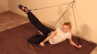 Упражнения на домашнем тренажере