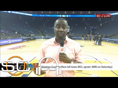Kevin Durant told Chris Haynes 'everybody needs to relax' about Steph's injury | SC with SVP | ESPN
